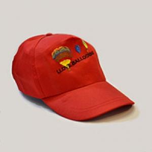Бейсболка красная (вышивка)