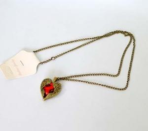 Кулон сердце (на цепочке)